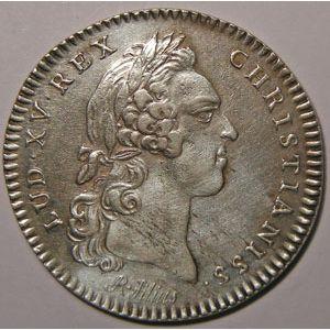 Photo numismatique Monnaies Jetons et médailles Jeton de Louis XV Procureurs de la Cour