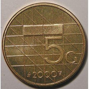 Photo numismatique Monnaies Etrangères Pays-Bas 5 Gulden