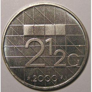 Photo numismatique Monnaies Etrangères Pays-Bas 2-1/2 Gulden