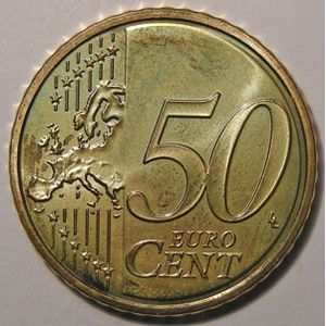 Photo numismatique Monnaies Euros France 50 Cent