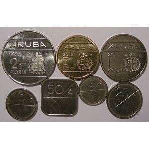 Photo numismatique Monnaies Etrangères Aruba Lots