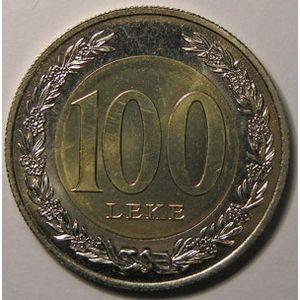 Photo numismatique Monnaies Etrangères Albanie 100 Leke