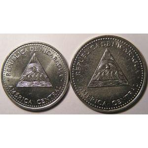 Photo numismatique Monnaies Etrangères Nicaragua Lots