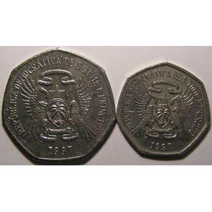 Photo numismatique Monnaies Etrangères Saint Thomas et Principe Lots