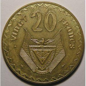 Photo numismatique Monnaies Etrangères Rwanda Essais