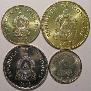 Photo numismatique Monnaies Etrangères Honduras Lots