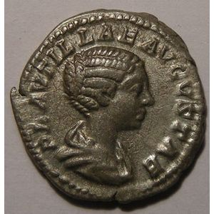 Photo numismatique Monnaies Empire Romain PLAUTILLE (Femme de Caracalla) Denier