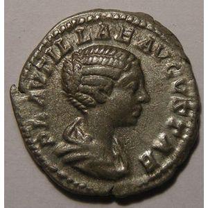 Photo numismatique Monnaies Empire Romain PLAUTILLE (Femme de Caracalla) Denier