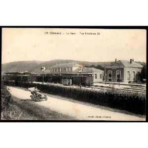 58 - CLAMECY (Saône et Loire) - La Gare - Vue intérieure