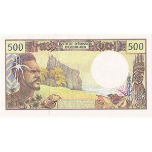 Photo numismatique Billets Billets étrangers Polynésie Française
