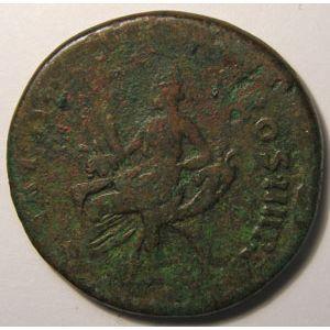 Photo numismatique Monnaies Empire Romain TRAJAN (98-117) Dupondius