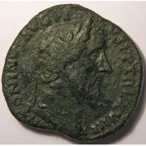 Photo numismatique Monnaies Empire Romain ANTONIN LE PIEUX  (138-161) Sesterce