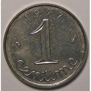 Photo numismatique Monnaies Françaises 1 Centime Gadoury 91. Epi
