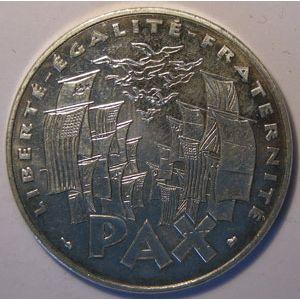 Photo numismatique Monnaies Françaises 100 Francs Gadoury 952. Commémoration de l'Armistice