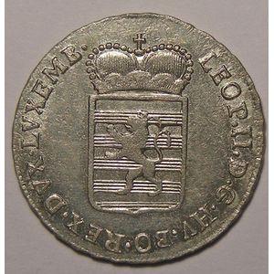 Photo numismatique Monnaies Etrangères Luxembourg Léopold II (1790-1792)
