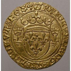 Photo numismatique Monnaies Royales Françaises CHARLES VII (1422-1461) Ecu Neuf