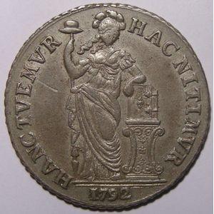 Photo numismatique Monnaies Etrangères Pays-Bas 3 Gulden