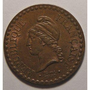 Photo numismatique Monnaies Françaises 1 Centime Gadoury 84. Dupré