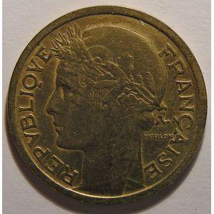 Photo numismatique Monnaies Françaises 1 Franc Gadoury 470. Morlon Bronze-Aluminium