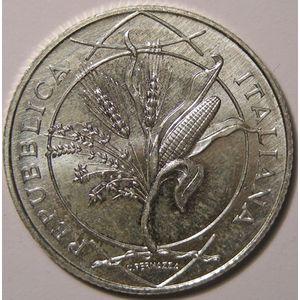 Photo numismatique Monnaies Euros Italie 5 Euro