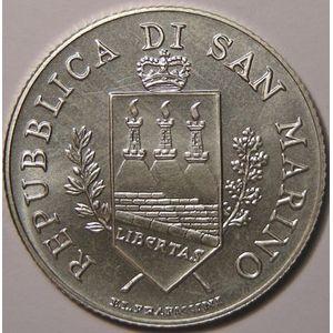 Photo numismatique Monnaies Euros Saint Marin 5 Euro