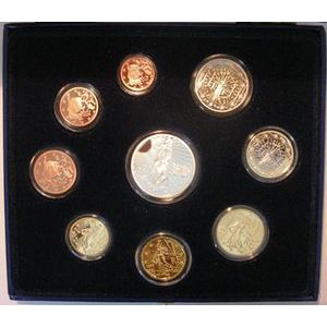 Photo numismatique Monnaies Euros France BE 2008