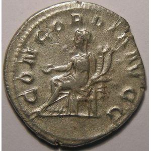 Photo numismatique Monnaies Empire Romain OTACILIE SEVERE (Epouse de Philippe I) Antoninien
