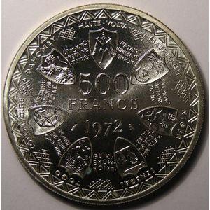 Photo numismatique Monnaies Etrang�res Afrique de l'Ouest 500 Francs