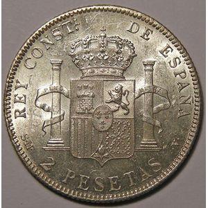 Photo numismatique Billets Etrangères Espagne Alfonso XIII (1886-1931)