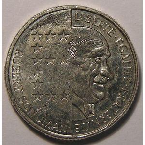 Photo numismatique Monnaies Françaises 10 Francs Gadoury 825. Schuman