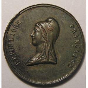 Photo numismatique Monnaies Jetons et médailles Médaille Fête du champ de Mars