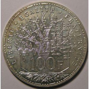 Photo numismatique Monnaies Françaises Essais 100 Francs