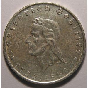 Photo numismatique Monnaies Etrangères Allemagne 3 ème Reich