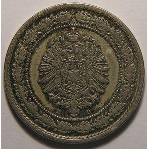 Photo numismatique Monnaies Etrangères Allemagne Empire Allemand divisionnaire