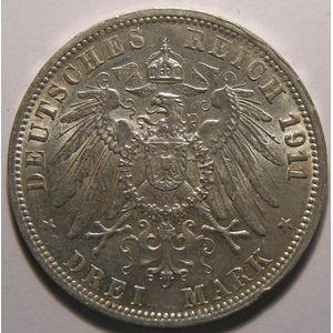 Photo numismatique Monnaies Etrangères Allemagne Württemberg