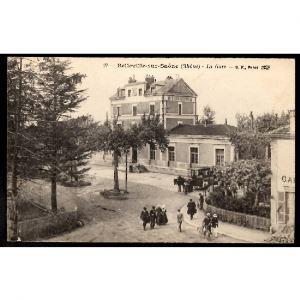 69 - Belleville sur Saône (Rhône) - La Gare