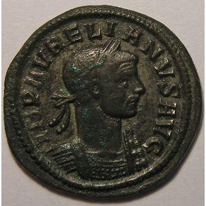 Photo numismatique Monnaies Empire Romain AURELIEN (270-275) Denier