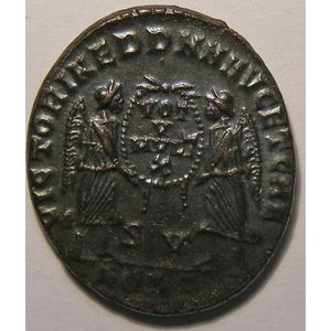 Photo numismatique Monnaies Empire Romain DECENCE (350-353) Maiorina