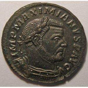 Photo numismatique Monnaies Empire Romain MAXIMIEN HERCULE (286-310) Follis