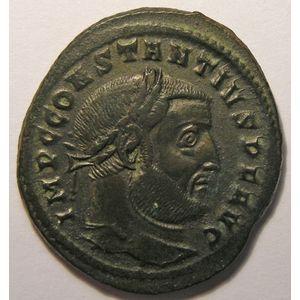 Photo numismatique Monnaies Empire Romain CONSTANCE I, CHLORE (293-306) Follis