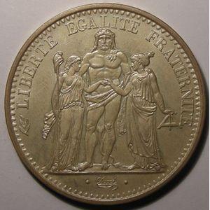 Photo numismatique Monnaies Françaises 10 Francs Gadoury 813. Hercule
