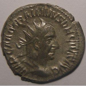 Photo numismatique Monnaies Empire Romain TRAJAN DECE (249-251) Antoninien