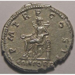 Photo numismatique Monnaies Empire Romain HADRIEN (117-138) Denier