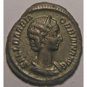 Photo numismatique Monnaies Empire Romain ORBIANE (Epouse d'Alexandre Sévère) Denier
