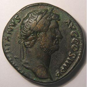 Photo numismatique Monnaies Empire Romain HADRIEN (117-138) Sesterce