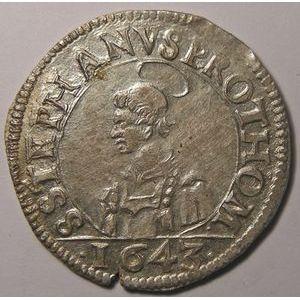 Photo numismatique Monnaies Lorraine Cité de Metz Franc au Saint-Etienne