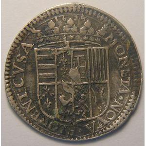Photo numismatique Monnaies Lorraine Duché de Lorraine Nicolas-François (1634)
