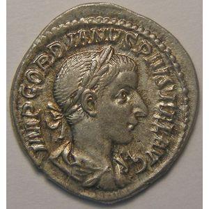 Photo numismatique Monnaies Empire Romain GORDIEN III (238-244) Denier