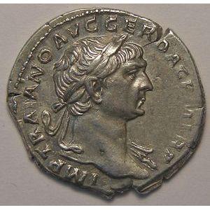 Photo numismatique Monnaies Empire Romain TRAJAN (98-117) Denier