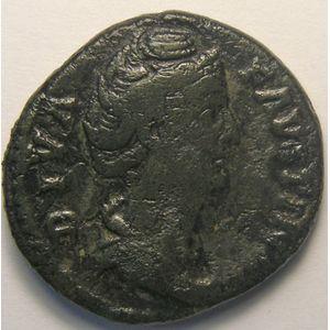 Photo numismatique Monnaies Empire Romain FAUSTINE SENIOR (Femme d'Antonin le Pieux) As